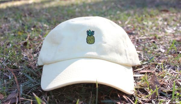 c6bb6b792b775 Butter Pineapple Dad Hat – Flociety