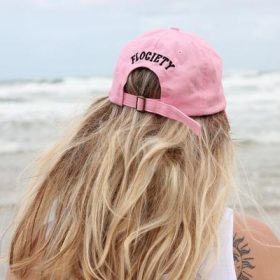 c82759a5d9591 Pink Pineapple Dad Hat – Flociety