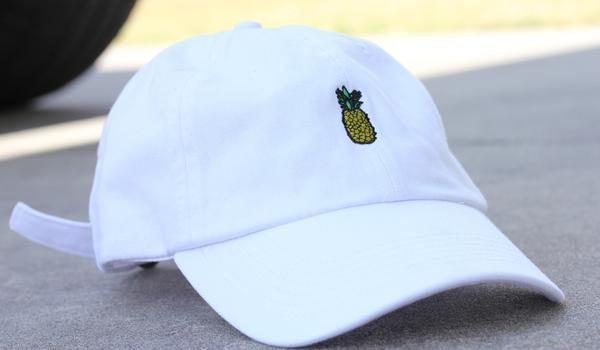 08aa670540efa White Pineapple Dad Hat – Flociety
